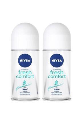 Nivea Fresh Comfort Kadın Deodorant Roll-on 50 ml 2'li