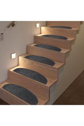 Step Tufting Halıdan Yapışkantabanlı Merdiven Basamak Paspası / Halısı