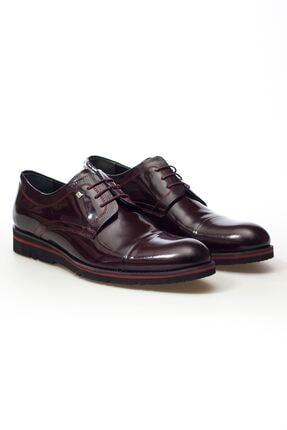 MARCOMEN Bordo Rugan Hakiki Deri Bağcıklı Erkek Günük Ayakkabı • A20eymcm0029