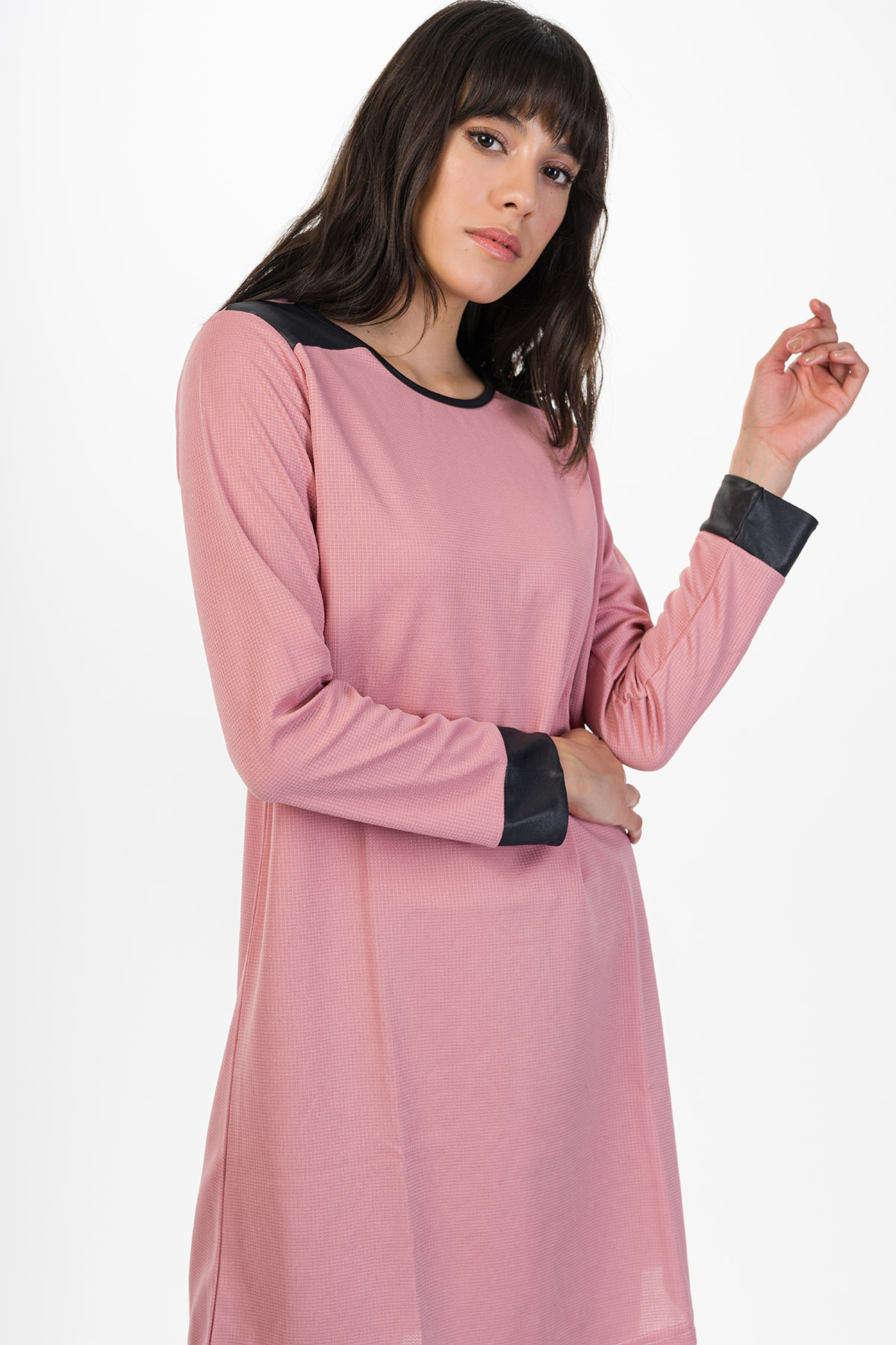 Runever Kadın Pudra Tunik Takım 2