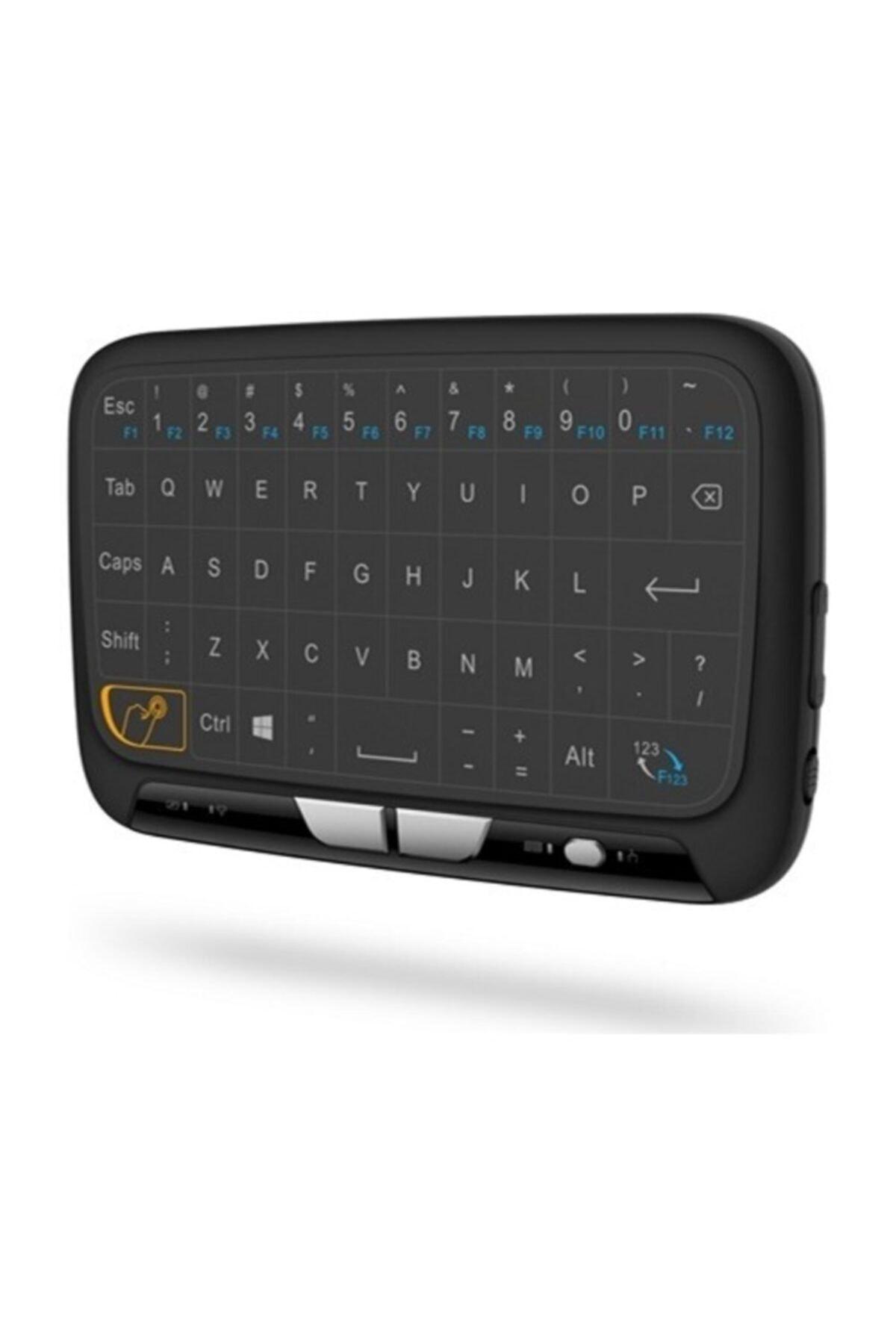 Paleon H18 Kablosuz Mini Klavye Touchpad Şarjlı Smart Tv Dokunmatik Mouse 1