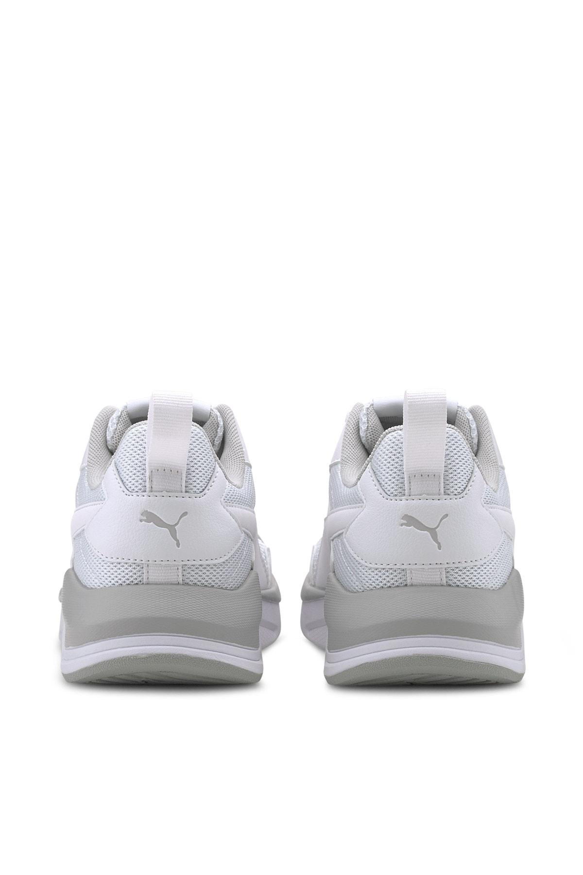 Puma X-RAY LITE JR Beyaz Kız Çocuk Sneaker Ayakkabı 100660673 2