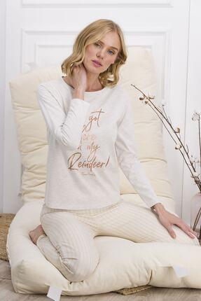 Pierre Cardin Pıerre Cardın Kadın Uzun Kol Pijama Takımı Pc7605-s 21k