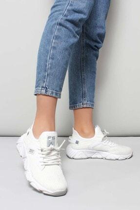 FAST STEP Beyaz Kadın Sneaker Ayakkabı 925za40
