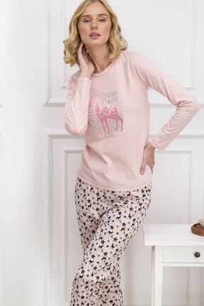 Pierre Cardin Kadın Pembe  Pijama Takımı