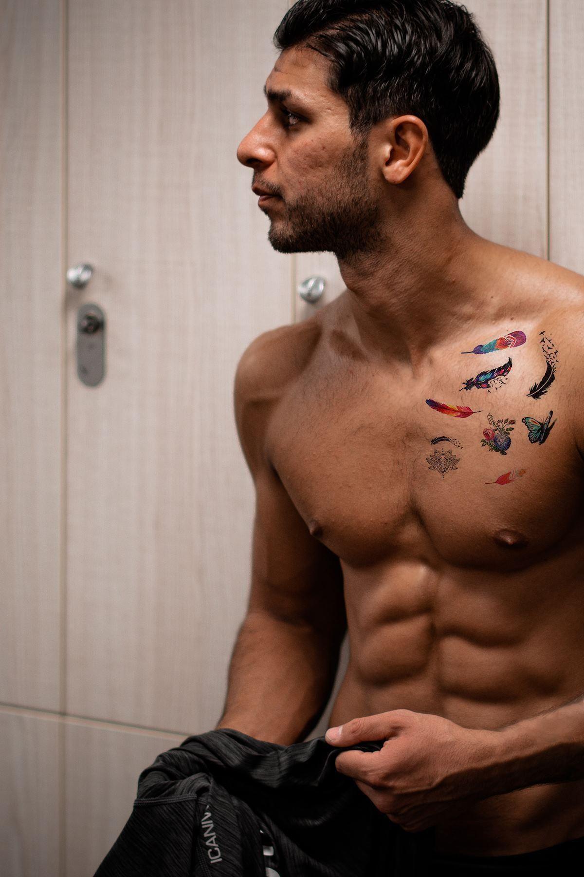 TAKIŞTIR Geçici Karışık Dövme Tattoo 2