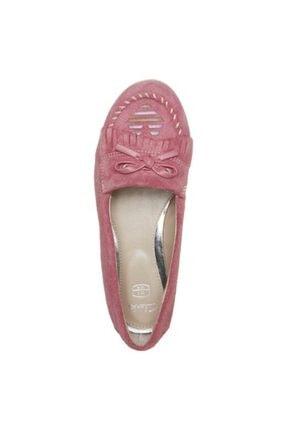 CLARKS Kadın Babet Ayakkabı Şık Ve Rahat Dance Dot Light Pink