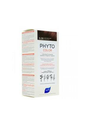 Phyto Color 5.35 - Açık Kestane Dore Akaju (Bitkisel Saç Boyası) -