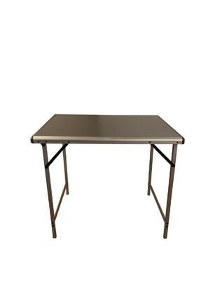 NURGAZ Metalik Campout Katlanır Kamp Masası