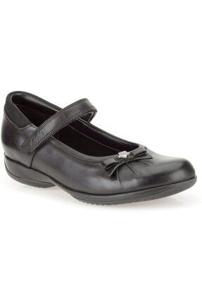 CLARKS Okul Ayakkabı Siyah Deri Daisy Spark Okul Ayakkabıları Mükemmel Bir Seçimdir.