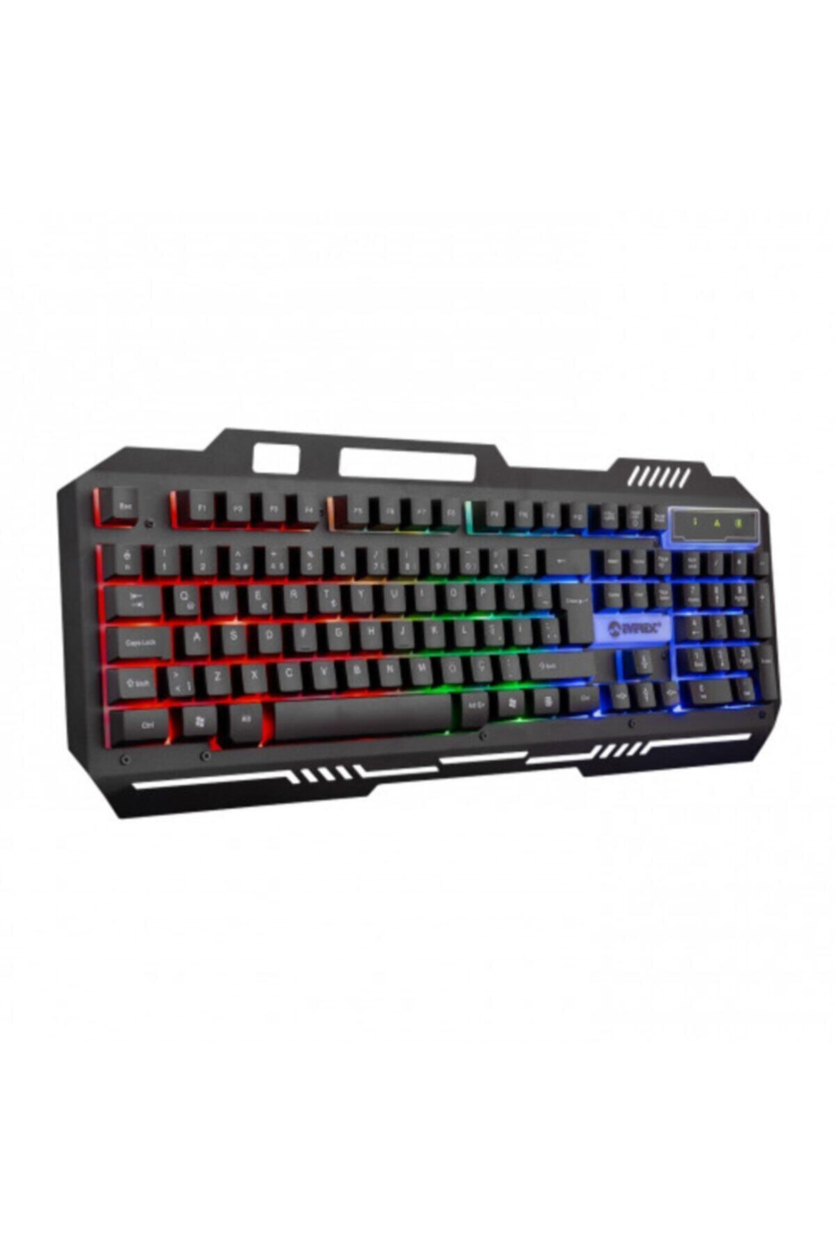 Everest Km-g88 X-drıfter Gaming Gökkuşağı Aydınlatmalı Usb Klavye Mouse Set 2