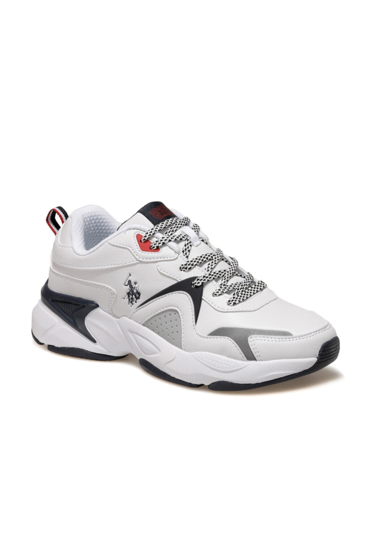 U.S. Polo Assn. JIMMY Beyaz Erkek Sneaker Ayakkabı 100536421 1