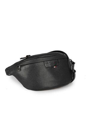U.S. Polo Assn. Unisex Siyah Bel Çantası Plevr9502