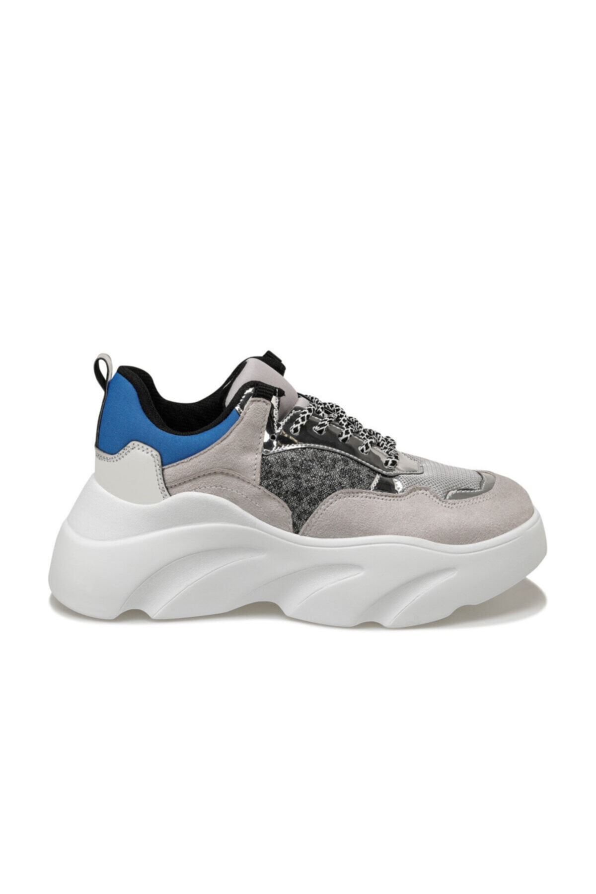 Butigo 19SF-2054 Gri Kadın Sneaker Ayakkabı 100530962 2