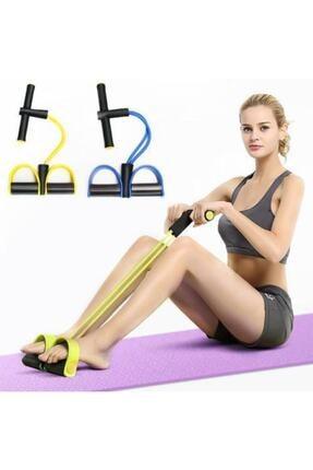Bodydrom Body Trimmer Egzersiz Aleti El Ayak Direnç Yayı Lastiği Spor Fitness Vücut Karın Kondisyon Lastik