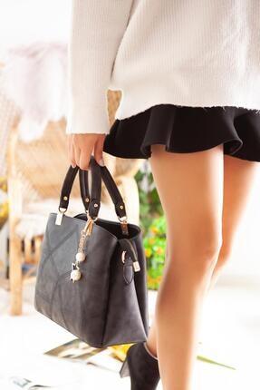 Limoya Bags Kadın Siyah Juniper El ve Omuz Çantası