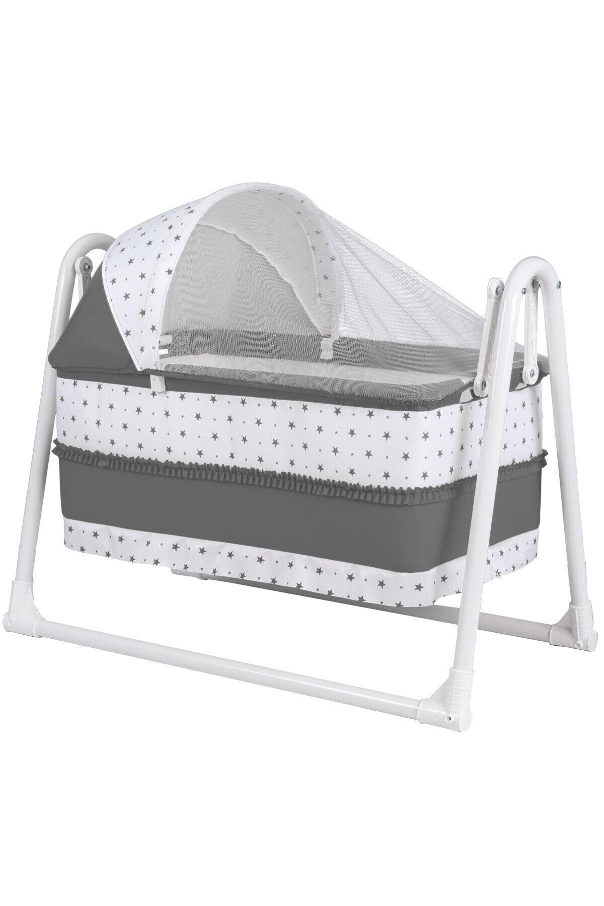 POLLY BABY Lüks Portatif Sallanır Sepet Beşik Hamak Beşik 1