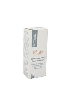 Dermoskin Be Bright Göz Çevresi Peptit Komplekx Krem 15 ml