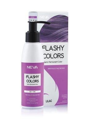 Flashy Colors Yarı Kalıcı Saç Boyası - Lila 100 ml