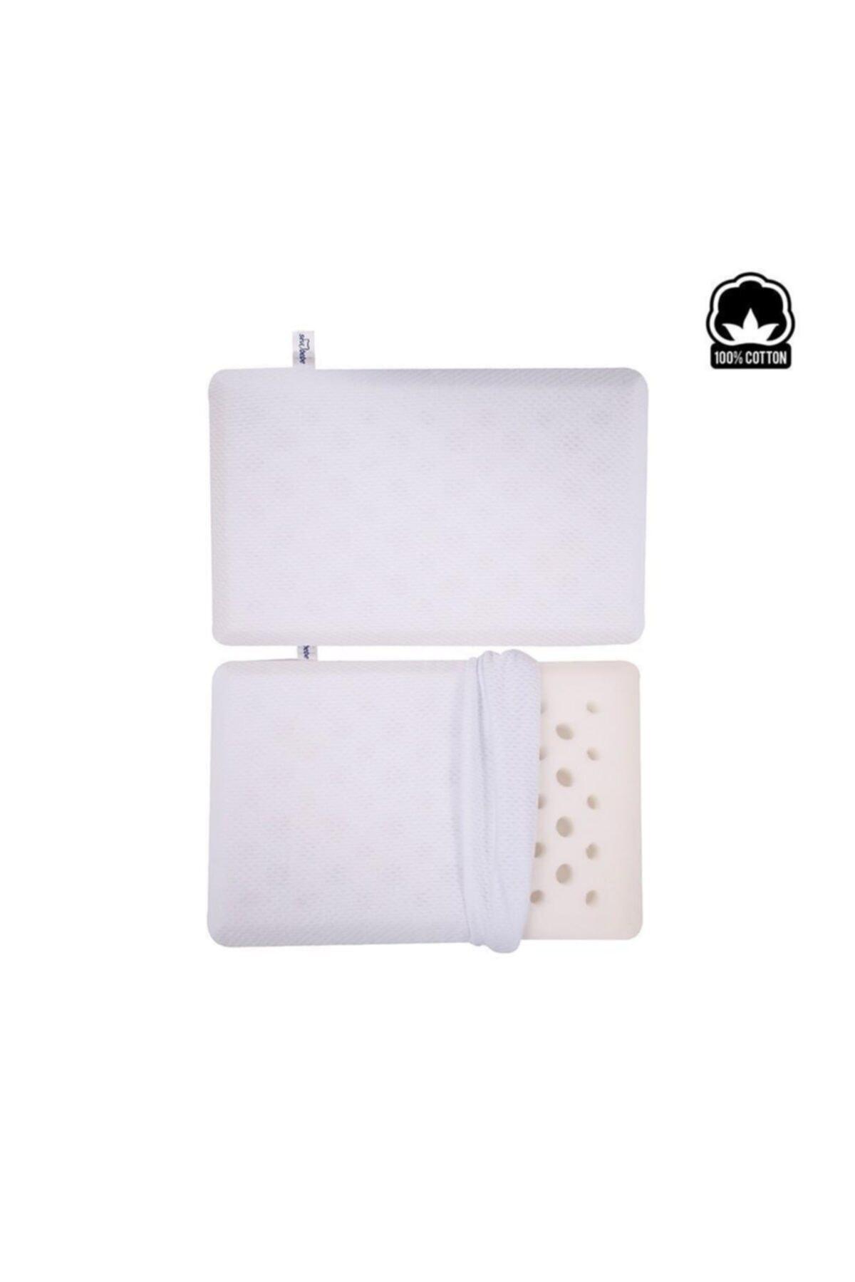 Sevi Bebe Boğulmayı Önleyici Yastık Art-151 Beyaz 1