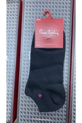 Pierre Cardin Kadın Siyah Patik Çorap 6'lı Paket