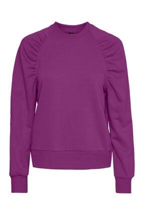 Vero Moda Reglan Kol Büzgülü Sweatshirt 10247902 Vmnatalıe