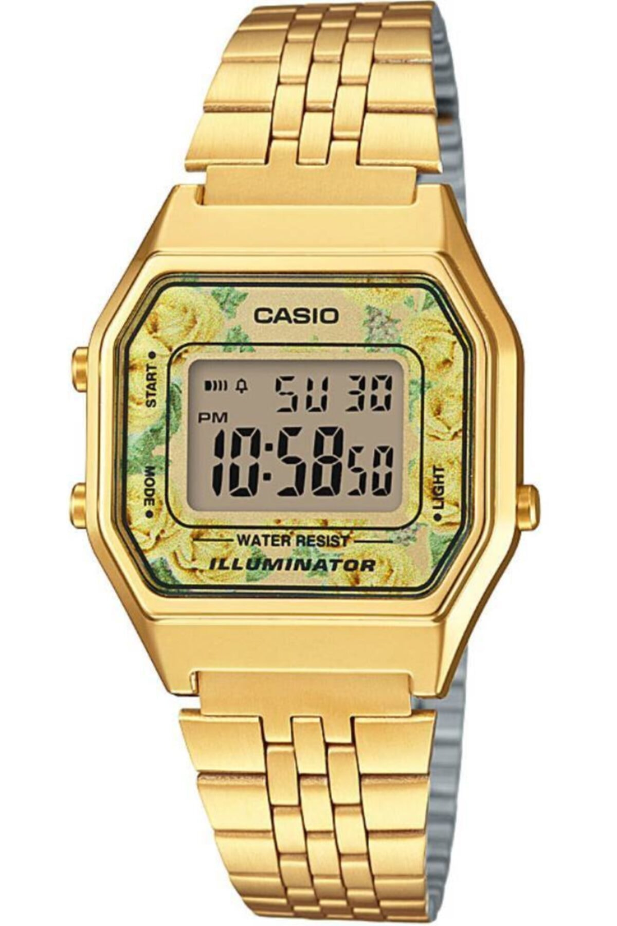 Casio Kadın Altın Kol Saati La680wga-9cdf 1