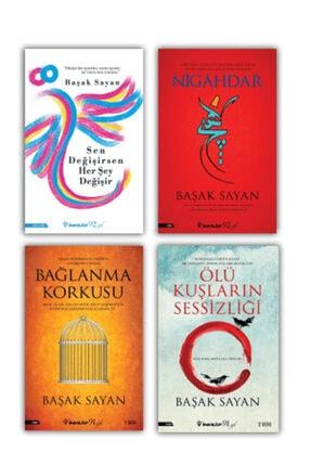 İnkılap Kitabevi Sen Değişirsen Her Şey Değişir-nigahdar-ölü Kuşların Sessizliği-bağlanma Korkusu-başak Sayan 4 Kitap