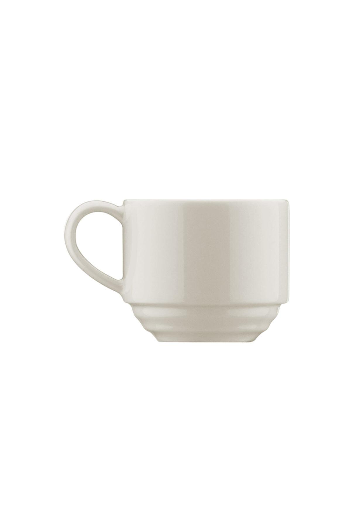 Kütahya Porselen Tuvana Kahve Takımı Krem 2