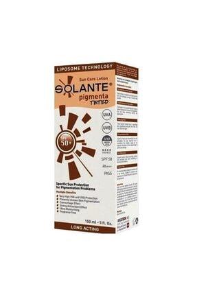 Solante Pigmenta Tinted Spf 50+ Losyon 150 ml