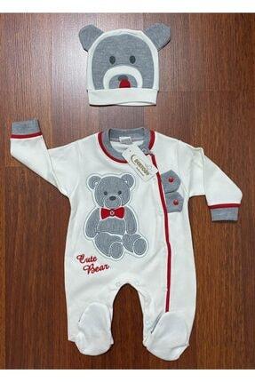 Bertoby Bebek Büyük Ayılı 2 Parça Tulum