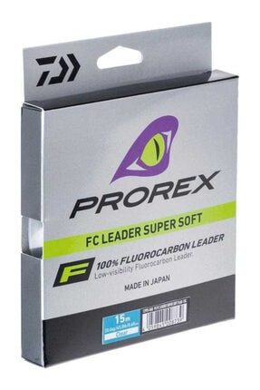 DAIWA Prorex Fc Leader Fluorocarbon Super Soft Misina