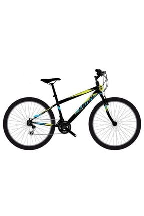 Ümit Bisiklet 2433 Explorer 24 V 24 Jant 21 Vites Erkek Dağ Bisikleti - Siyah-sarı