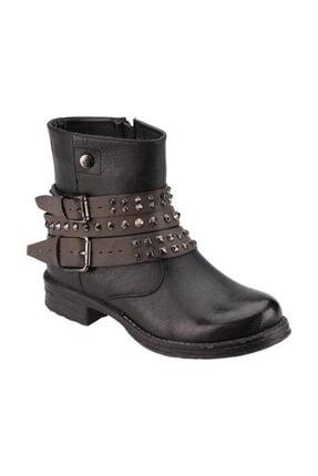 Kinetix Kadın Nepa Haki Fermuarlı  Çizme