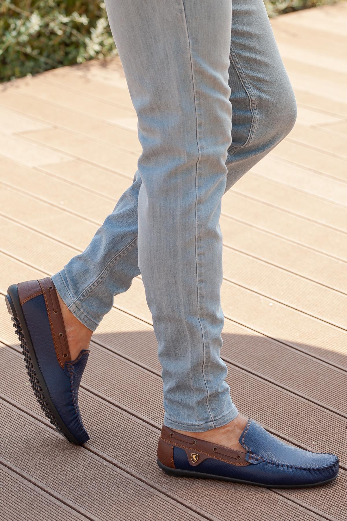 MUGGO Erkek Lacivert Günlük Ayakkabı 1