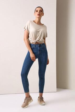 Gusto Skinny Kot Pantolon - Mavi