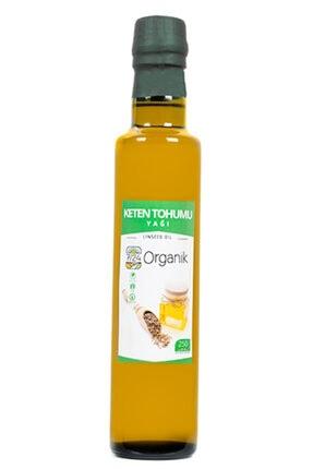 724 Organik Soğuk Sıkım Keten Tohumu Yağı- 250 ml