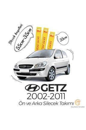 Inwells Hyundai Getz Ön Arka Silecek Seti (2002 - 2011)