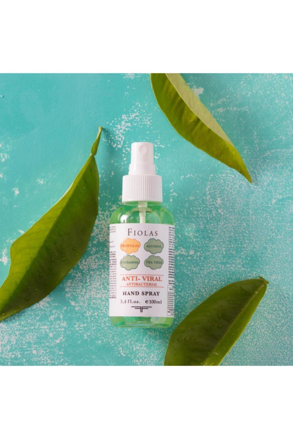 Fiolas Anti Viral Hand Spray Tea Tree 100ml 1