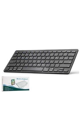 HADRON Hn806s Kablosuz Bluetooth Klavye Siyah Q