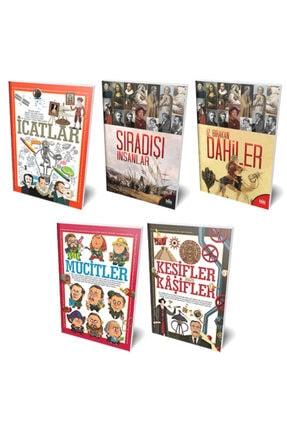 Halk Kitabevi Sıradışı Dahiler 5 Kitap