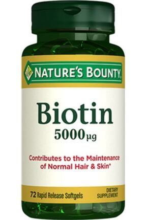 Nature's Bounty Nb Biotin 5000 Mcg 72 Kapsül
