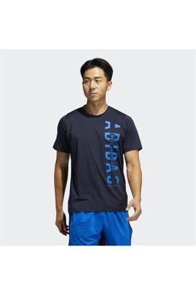 adidas Erkek Lacivert T-Shirt Fj6176 Fl Hyper Tee