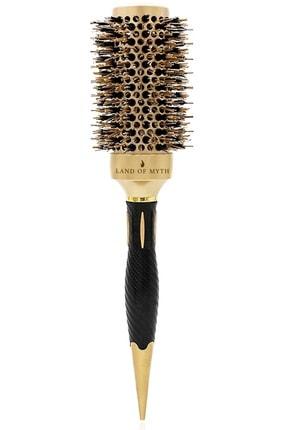 LAND OF MYTH 43 mm-Lom1143 Nano Teknoloji Seramik + İyonik Termal Fön Saç Fırçası, Doğal At Kılı Diş, Profesyonel