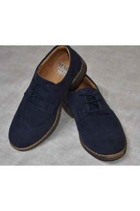 HARLİ Erkek Çocuk Lacivert Süet Ayakkabı