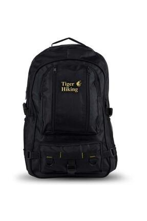 Tiger Hiking Siyah Dağcı Sırt Çantası Seyahat Ve Kamp Çantası
