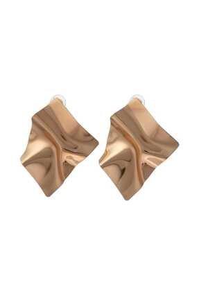 Coquet Accessories Kadın Kahverengi Küpe 19kg1u26m187