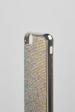 Bershka Parlak Taşlı Iphone 6/6s/7/8 Cep Telefonu Kılıfı