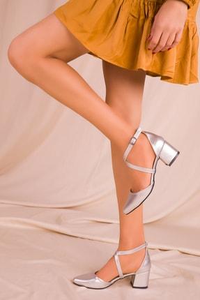 SOHO Gri Kadın Klasik Topuklu Ayakkabı 14392