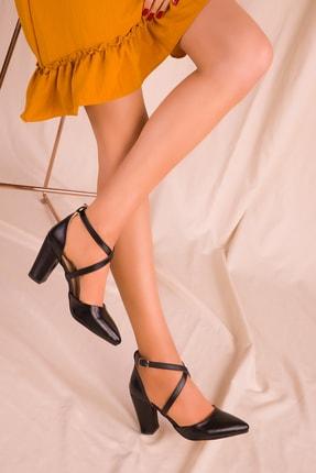 SOHO Siyah Kadın Klasik Topuklu Ayakkabı 14391
